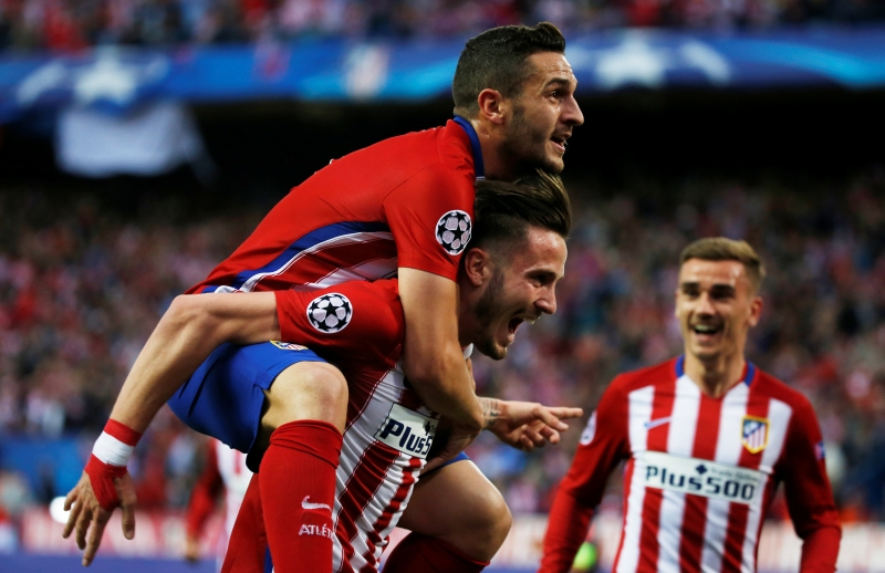 Football Soccer - Atletico Madrid v Bayern Munich - UEFA Champions League Semi Final First Leg - Vicente Calderon Stadium - 27/4/16
